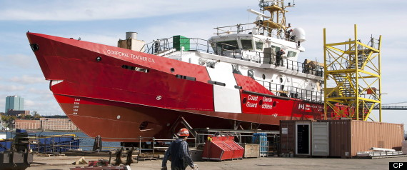 ARCTIC PATROL SHIP CONTRACT IRVING
