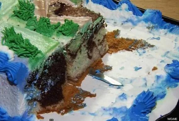 Strange Knife In Walmart Cake Cayden Bibeau 2 Finds Weapon In His Elmo Personalised Birthday Cards Veneteletsinfo