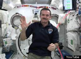 Chris Hadfield Salutes TED