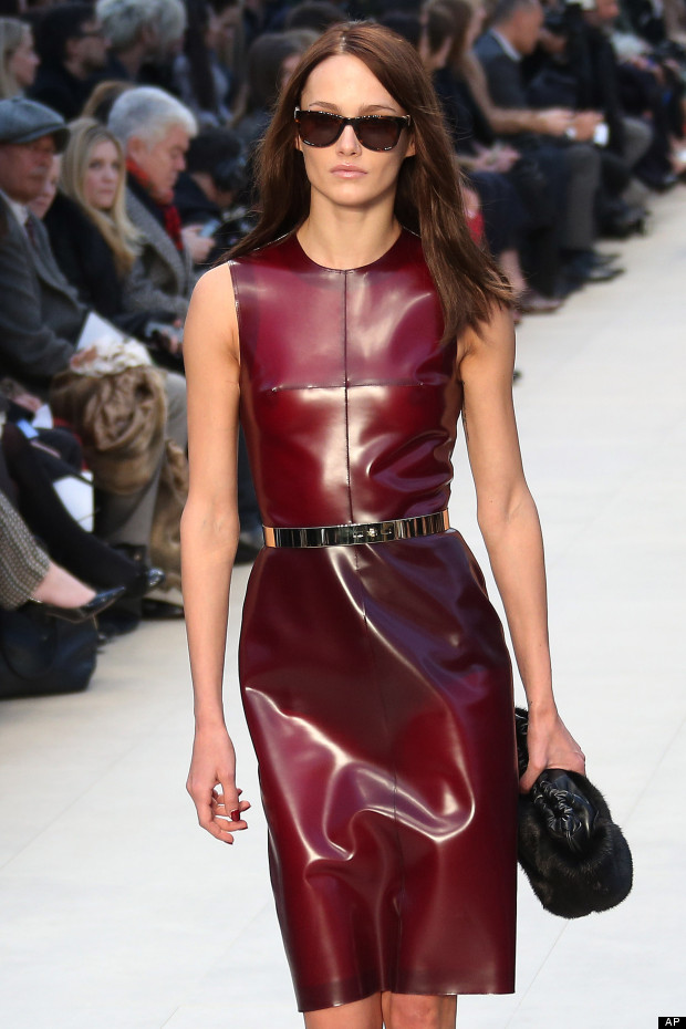 burberry latex