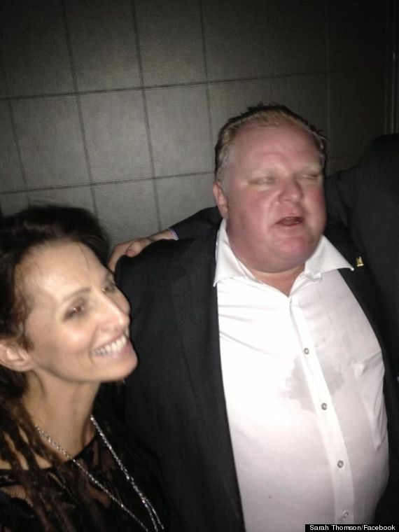 sarah thomson rob ford