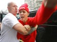 Justin Bieber Attacks Photographer Outside London Hotel (PICTURES)