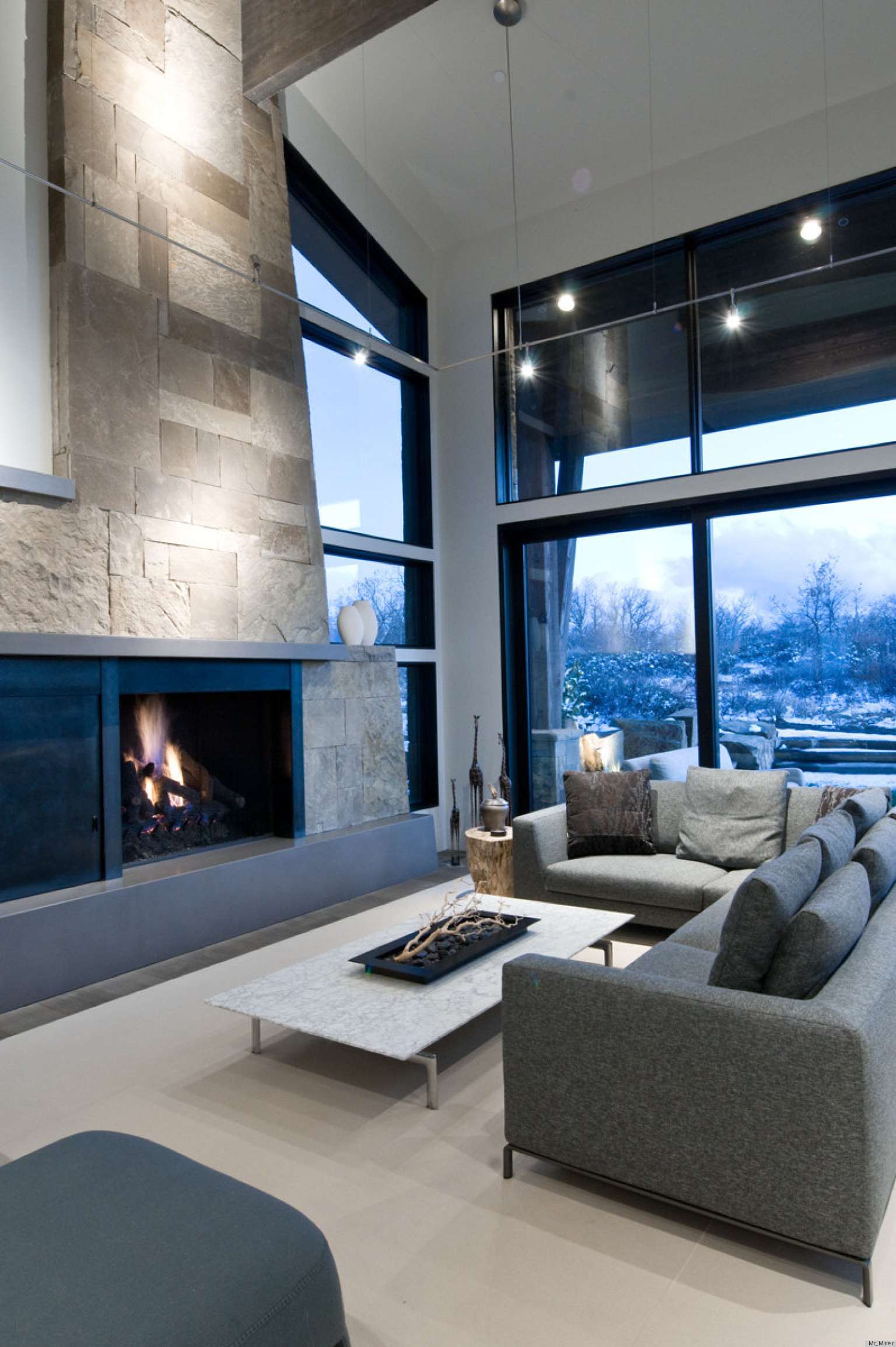 Spectacular Modern Mountain Home In Park City Utah: 'Mountain Modern' Home In Deer Valley, Utah Feels Like The