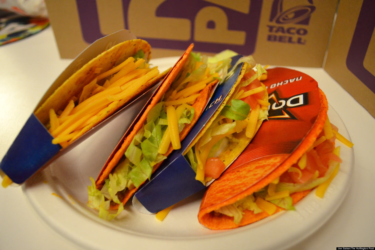 Doritos Locos Tacos Taste Test: Is Cool Ranch Better Than Nacho Cheese ...