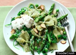Eat This: Spring Greens Asparagus And Ricotta Pasta