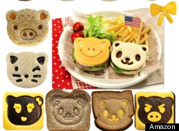 The Cutest Sandwich Cutters On The Internet