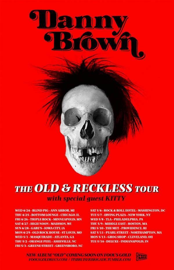 danny brown tour 2013