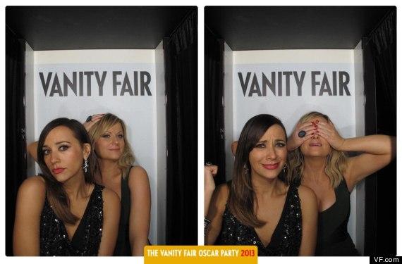 vanity fair oscar photo booth
