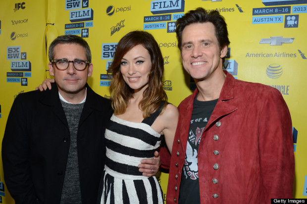 olivia wilde steve carrel jim carrey