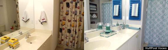 Con Que Puedo Decorar Un Baño:Cómo decorar tu baño con piezas que ya tienes en casa (VIDEO)