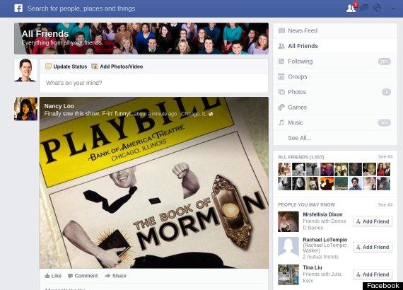 facebook personalized newspaper