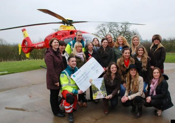 game birds midlands air ambulance charity