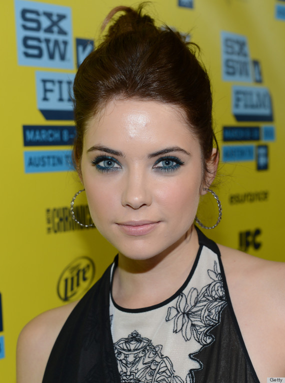 Ashley Benson Debuts Brown Hair On Red Carpet Photos Huffpost