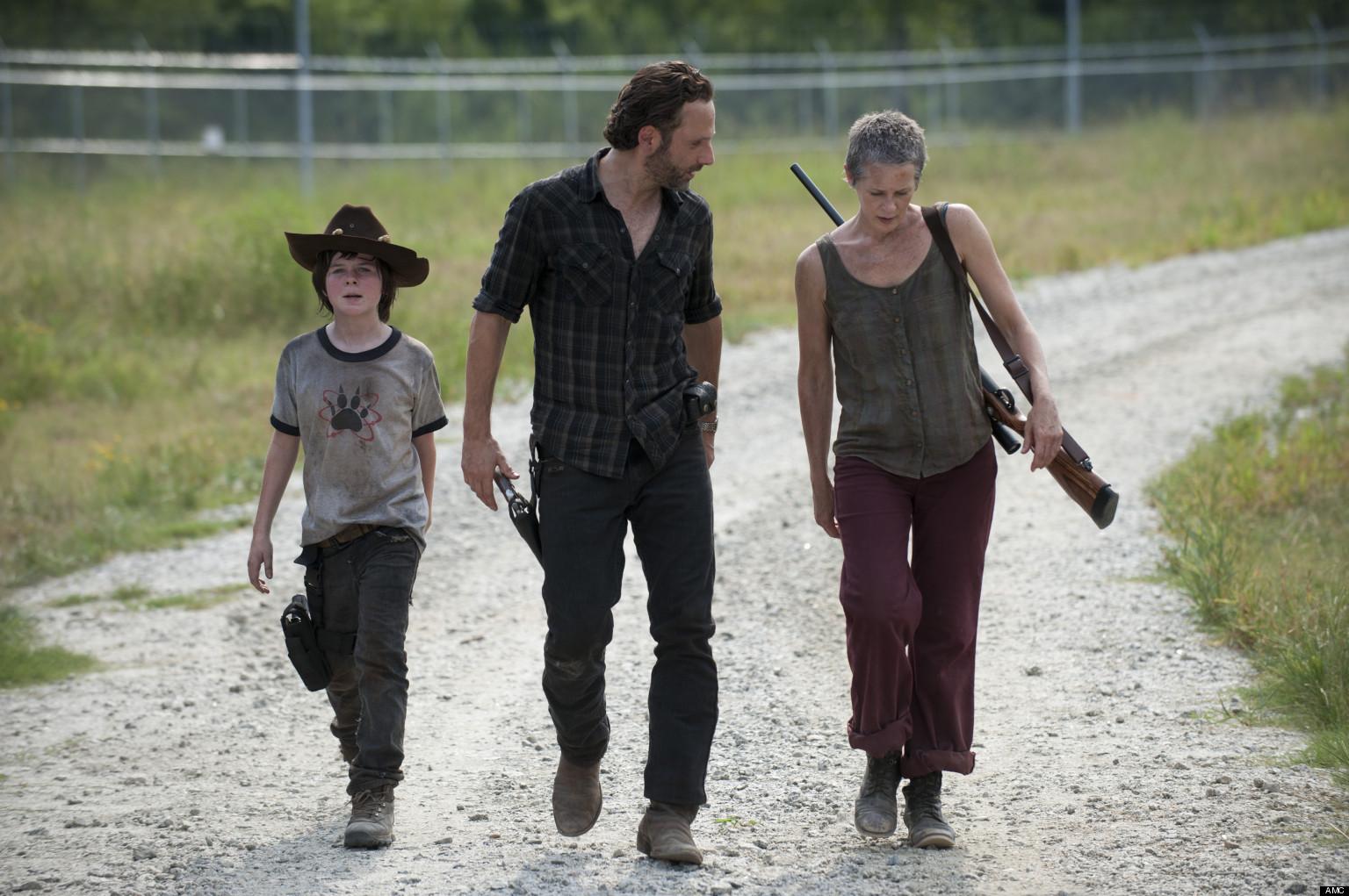 Carl The Walking Dead Actor 2013 'the Walking Dead' Carl is