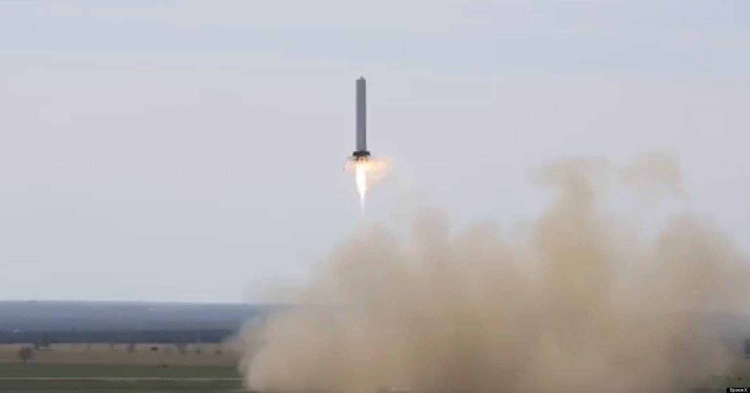 SpaceX 'Grasshopper': Reusable 'Hover Rocket' Could Cut ...