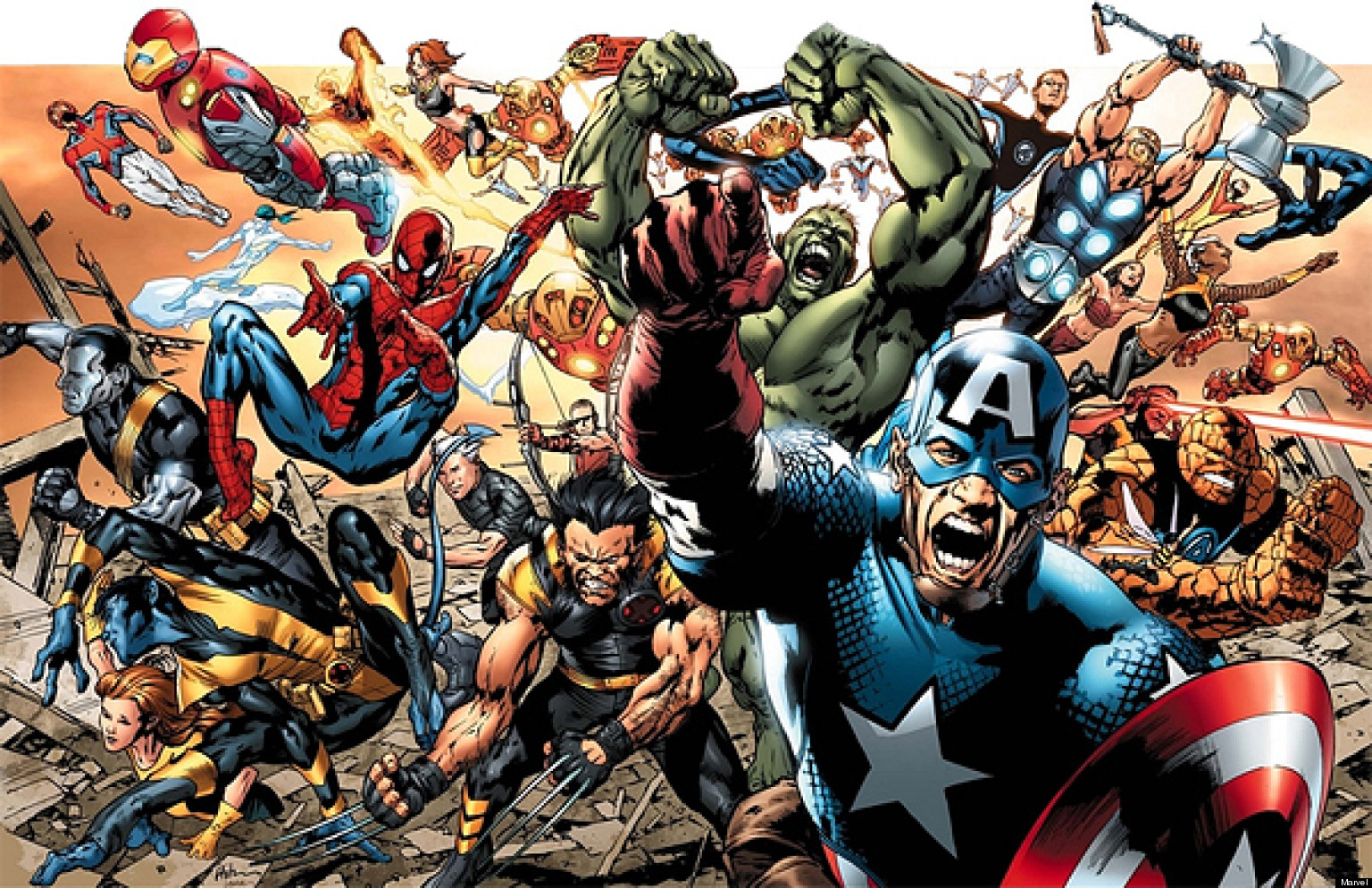 comic foto marvel: