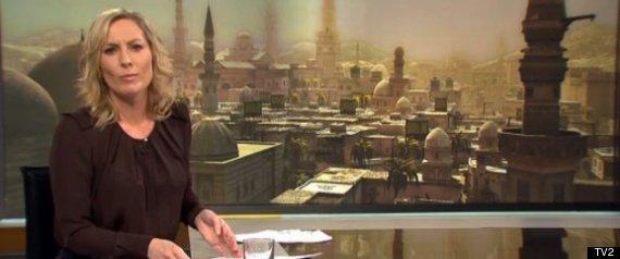 DANISH TV2 SYRIA WAR GAME