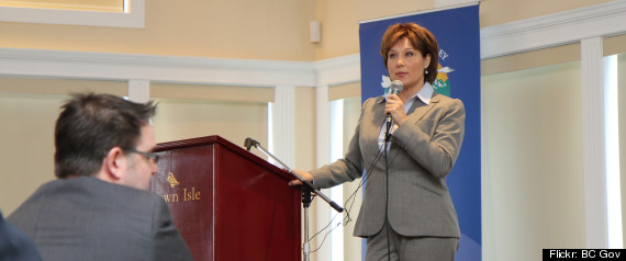 CHRISTY CLARK COMOX