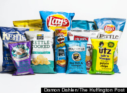 Taste Test: The Best Salt And Vinegar Chips