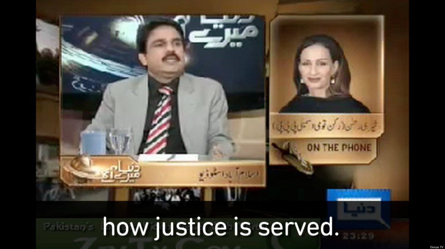 WATCH: The Clip That Could Get Pakistan's Ambassador To The U.S. Executed