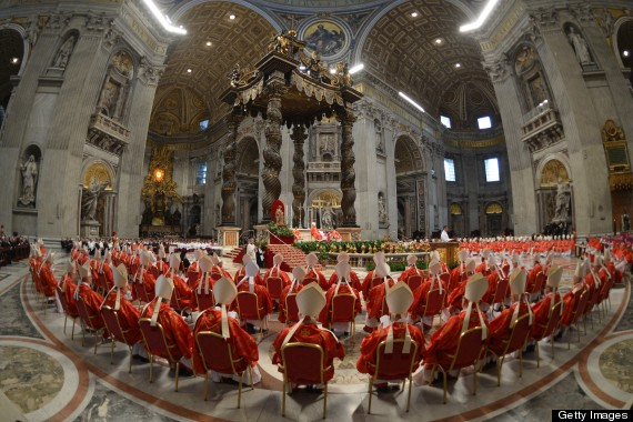 cardinals attend conclave