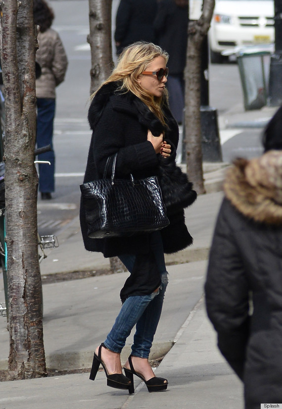 Mary Kate Olsen Has a Bad Day or Not?