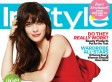 Zooey Deschanel's Face On InStyle Cover Catches Us By Surprise (PHOTO)