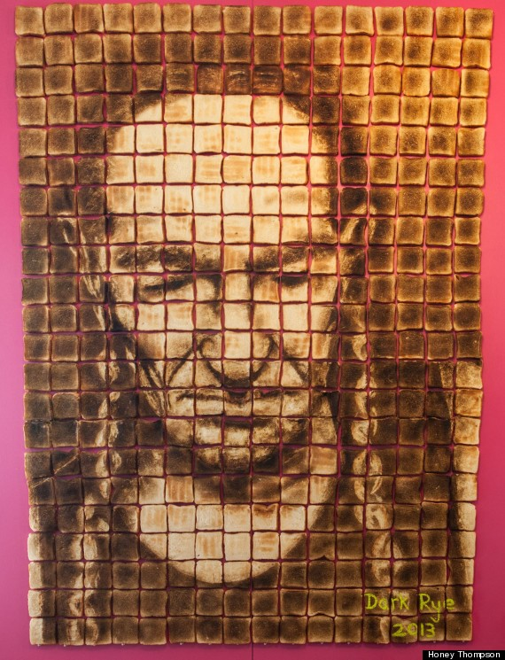 willie nelson toast art