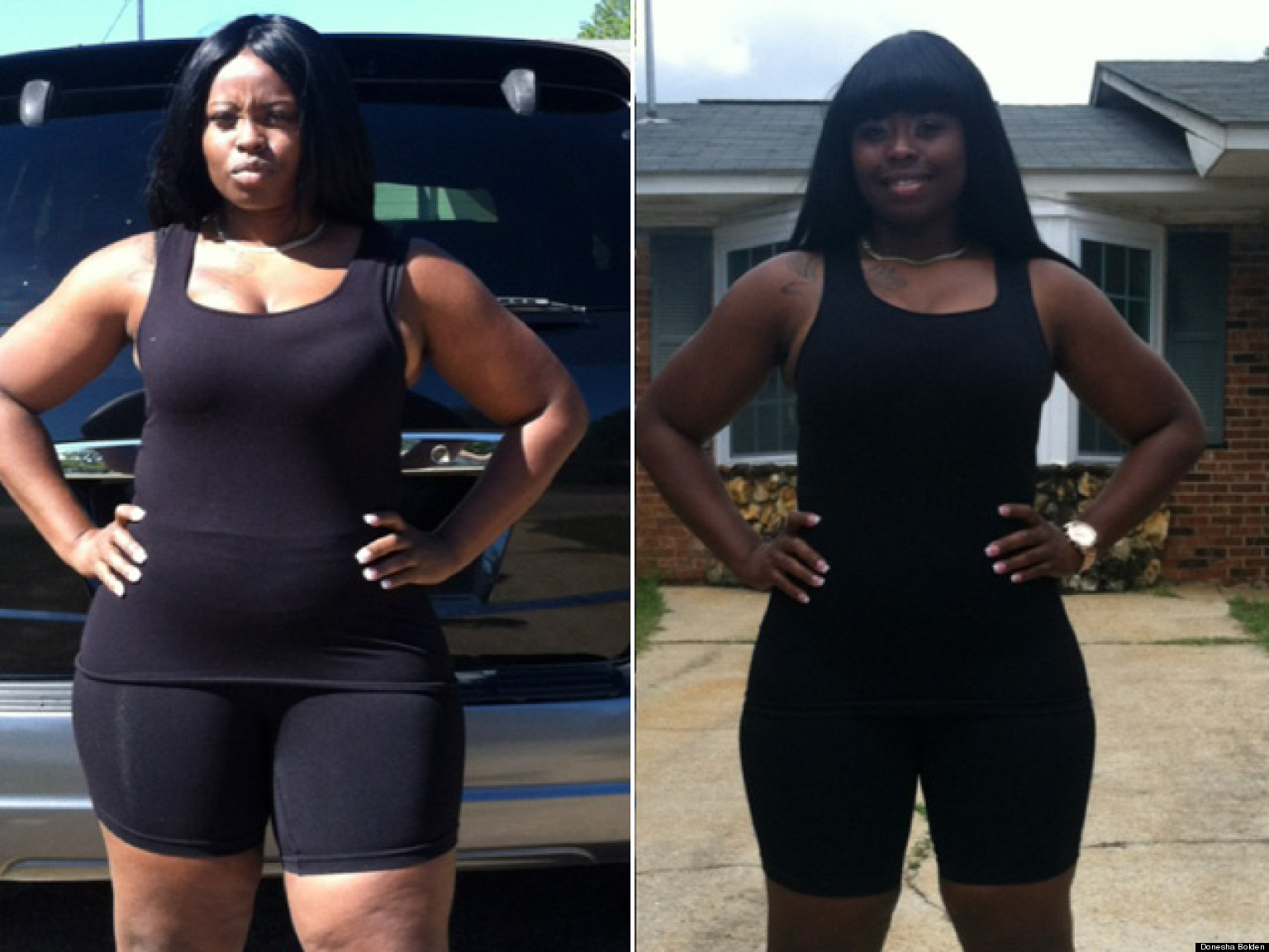 I Lost Weight: Donesha Bolden Committed To Intense ...