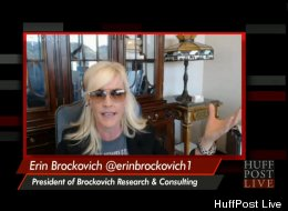 WATCH: Erin Brockovich Tackles Sinkholes