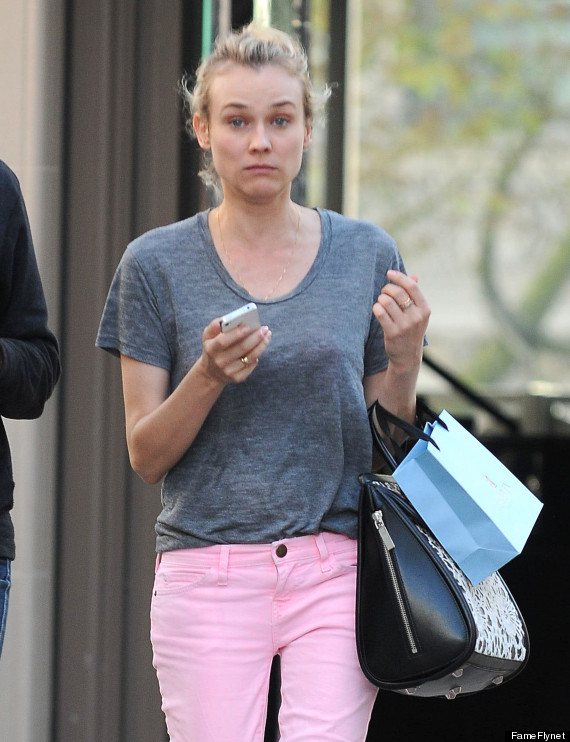diane kruger makeupfree