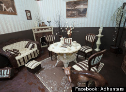 PHOTOS: A Room Where EVERYTHING Is Made Of Chocolate