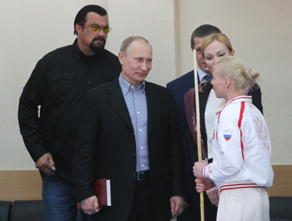 steven seagal and putin