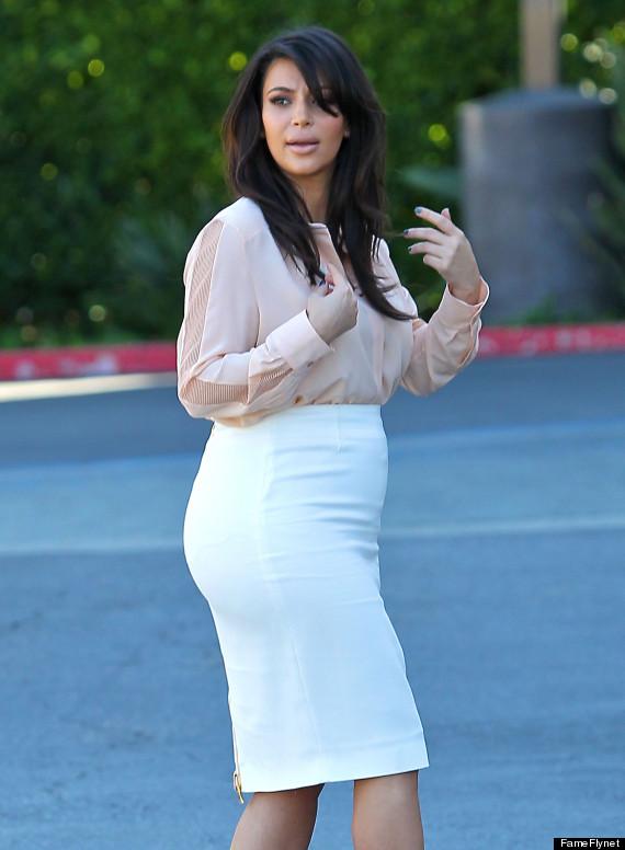 kim kardashian mommy blog