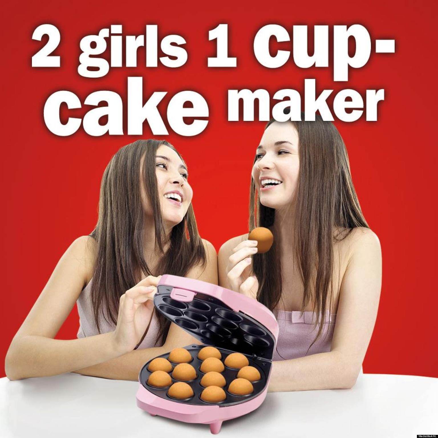 Two girls and a cup
