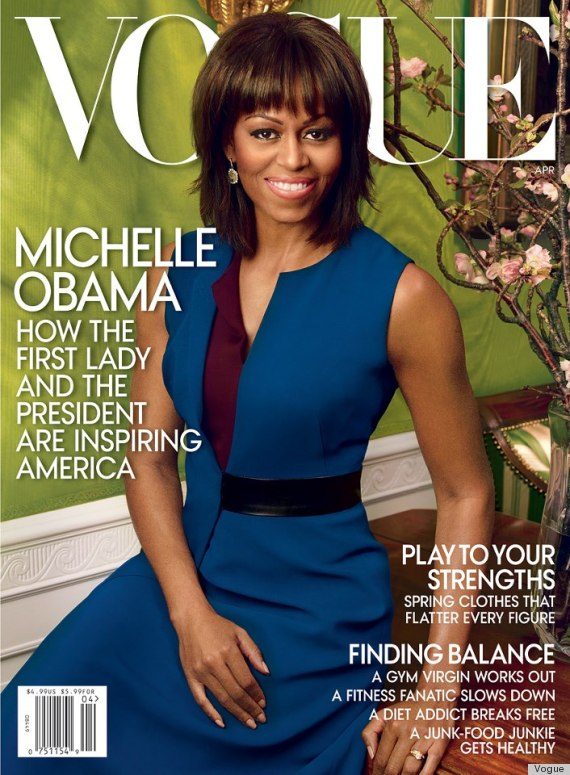 Two times a lady: Michelle Obama lands second Vogue magazine cover (LOOK)