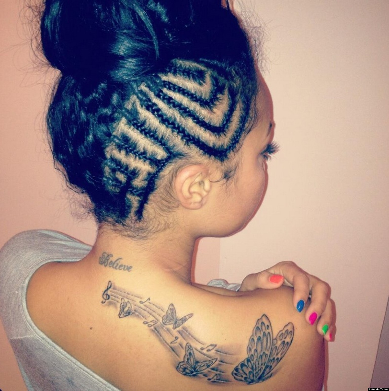 Leigh Anne Little Mix Tattoo Little Mix's Leigh-anne