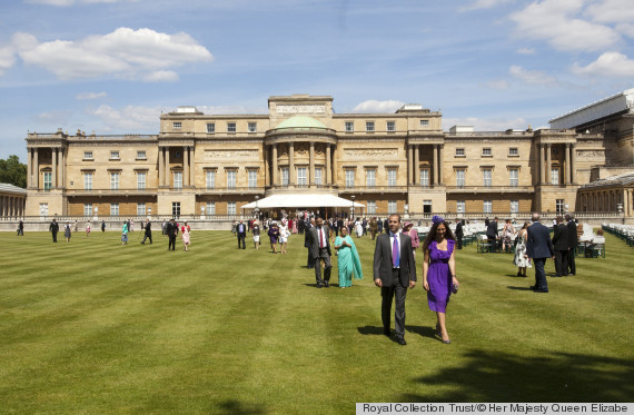 buckingham palace fashion show