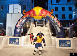 Pas de Red Bull Crashed Ice à Québec en 2015