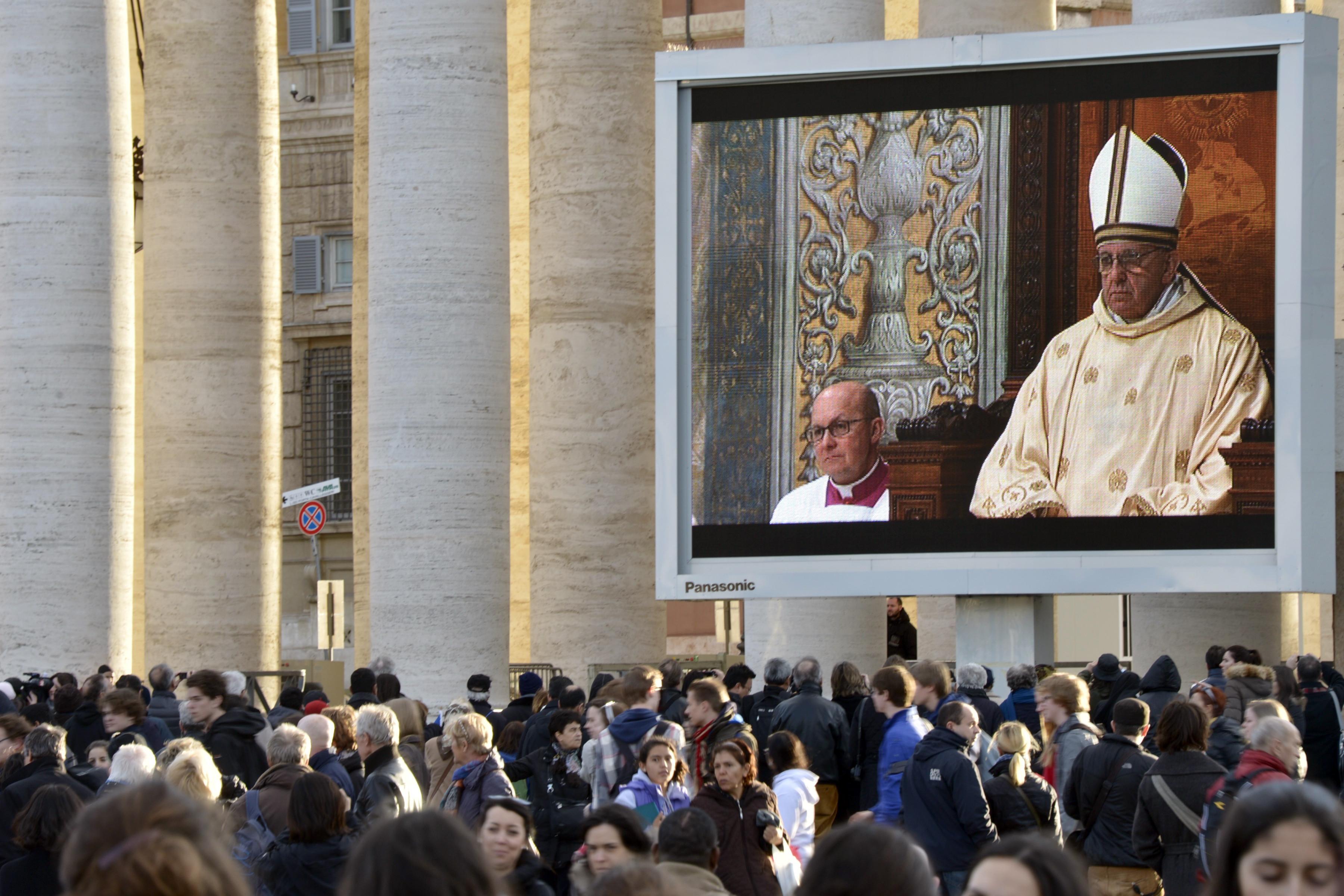 pape francois messe