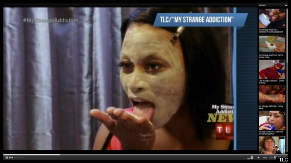 40-Year-Old Woman Addicted To Eating Powered Clay Face Mask (VIDEO)