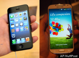 How The Galaxy S4 Compares To The iPhone 5