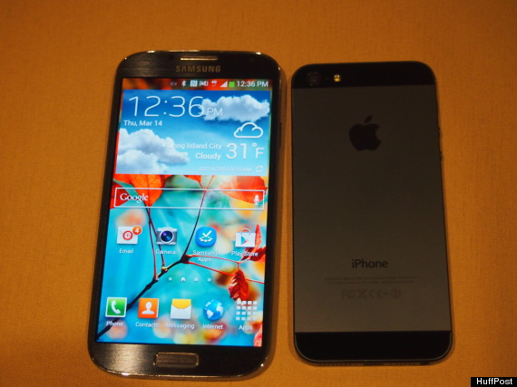 galaxy s iv iphone 5