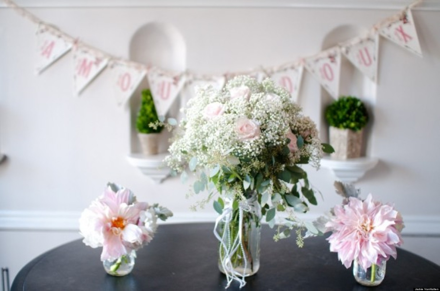 Wedding Flowers 4 Centerpieces For Your Bridal Shower Photos