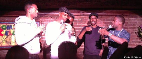 Dave chappelle chris rock s joint comedy cellar appearances hint at