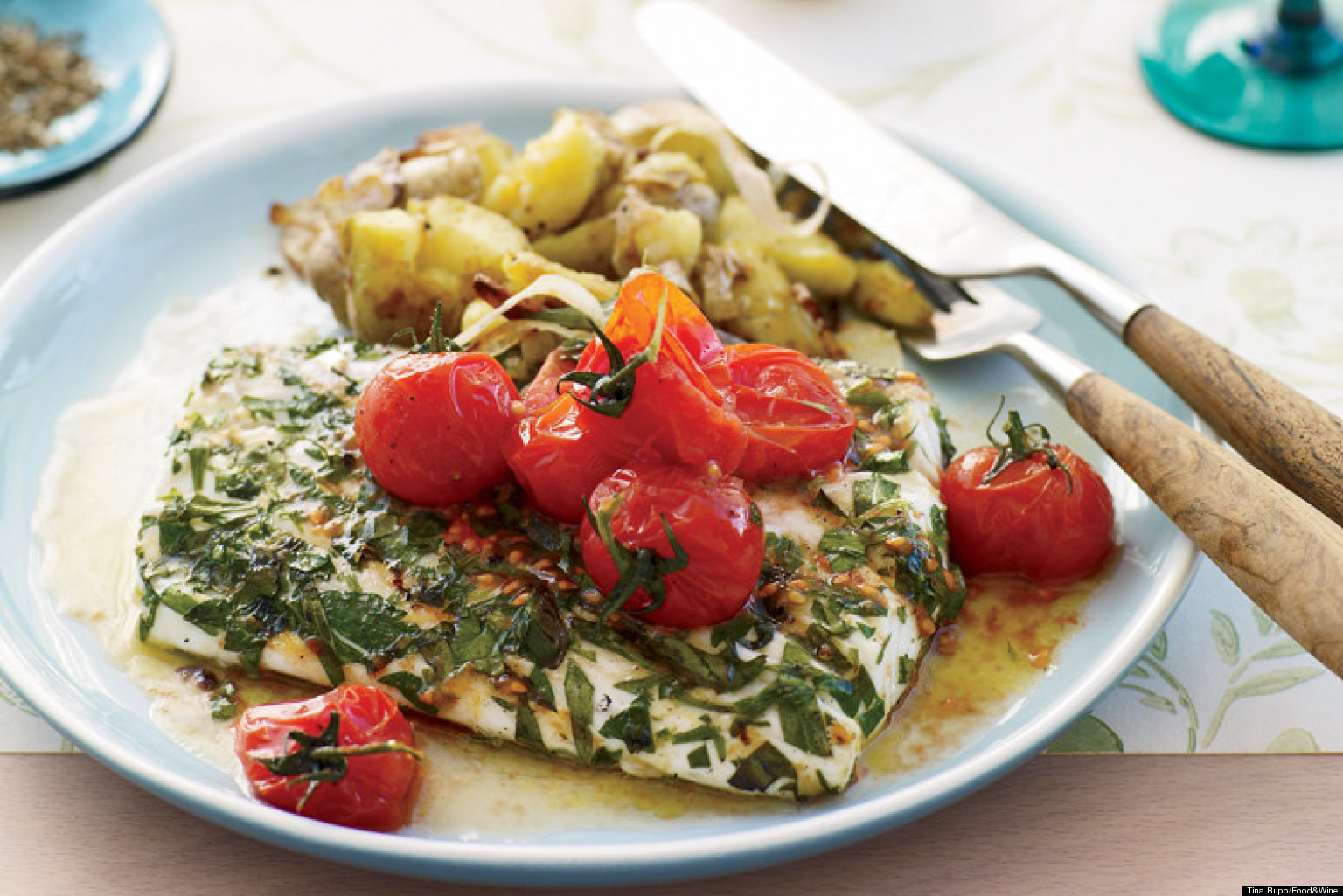 Recipe of the day halibut huffpost for How to cook halibut fish