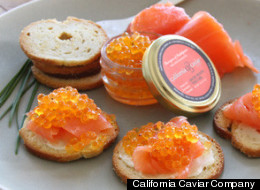 Breakfast Gets Classy With Bacon And Eggs Caviar