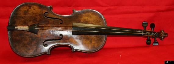 violon titanic
