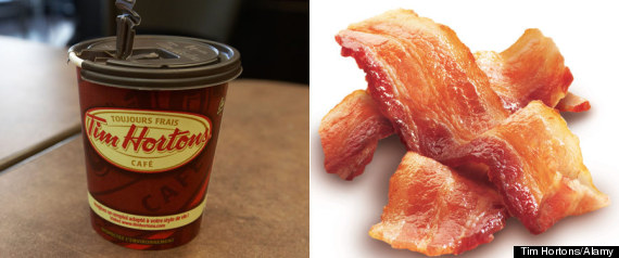 Tim Hortons Bacon