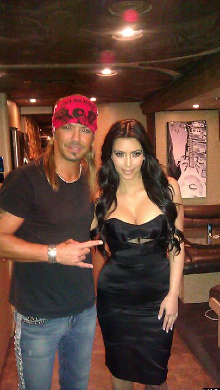 Bret Michaels Mistakes Kim Kardashian For Eva Longoria As
